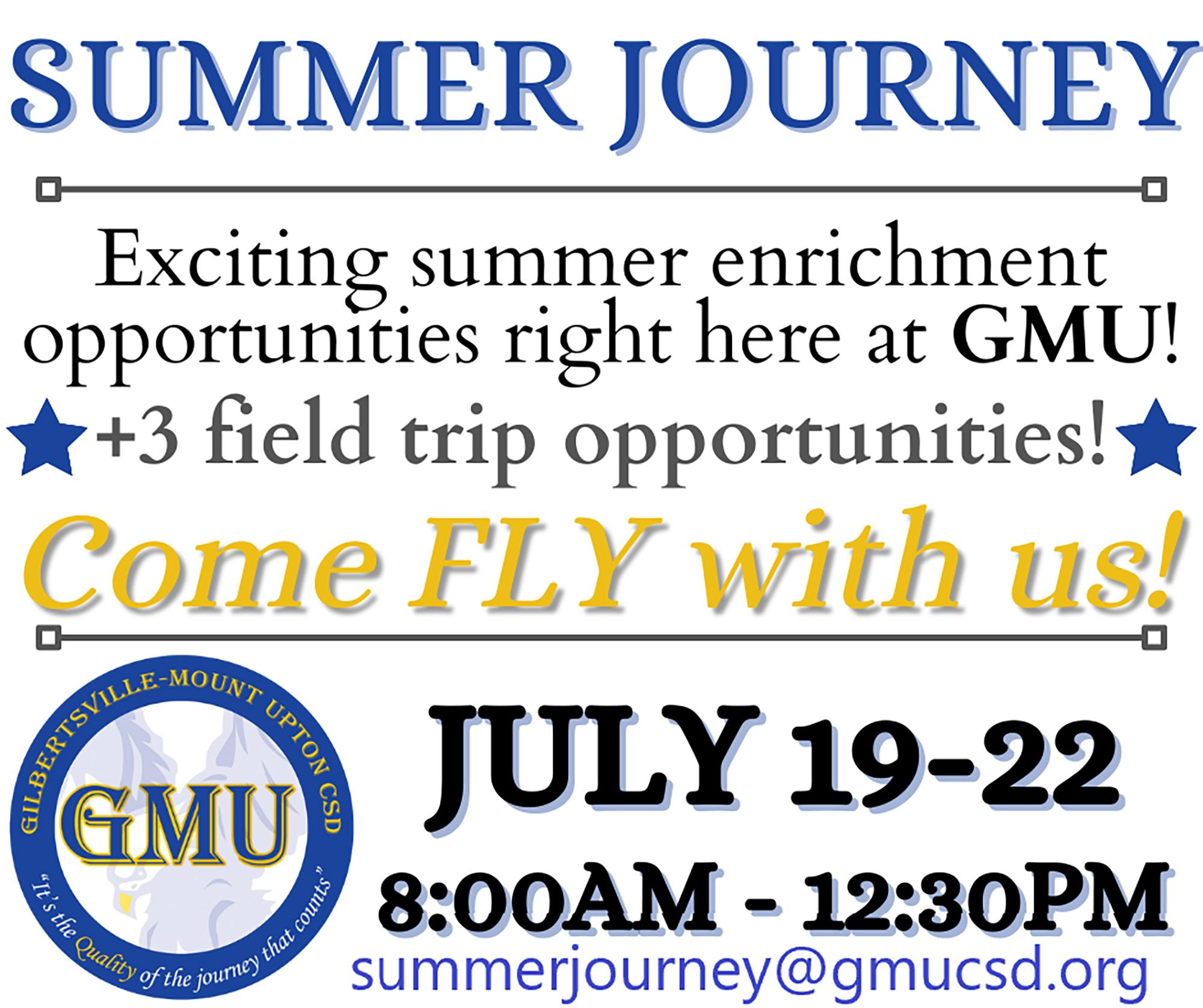 Summer Journey flyer (6/2021)