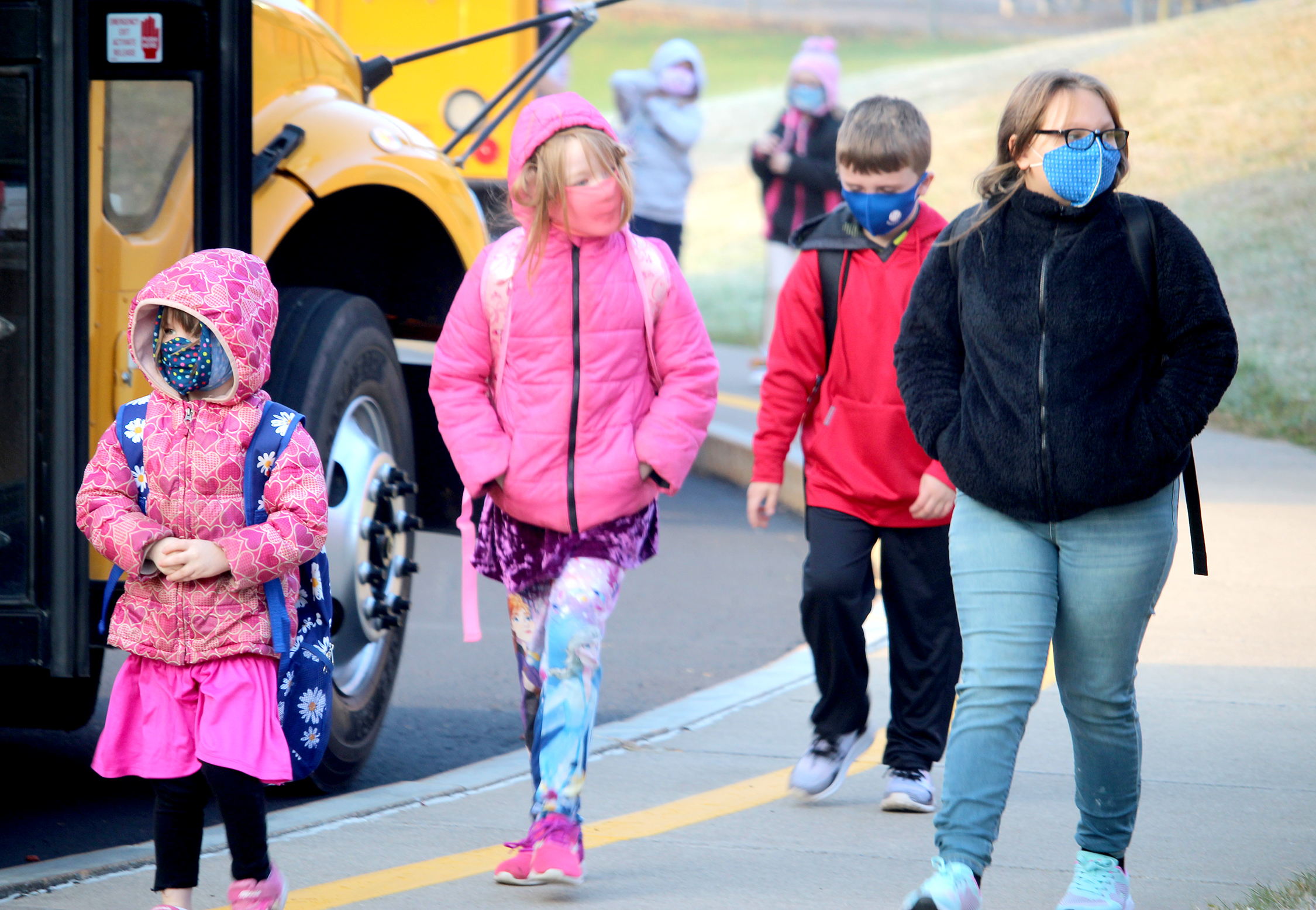 Students return to school (2/2021)